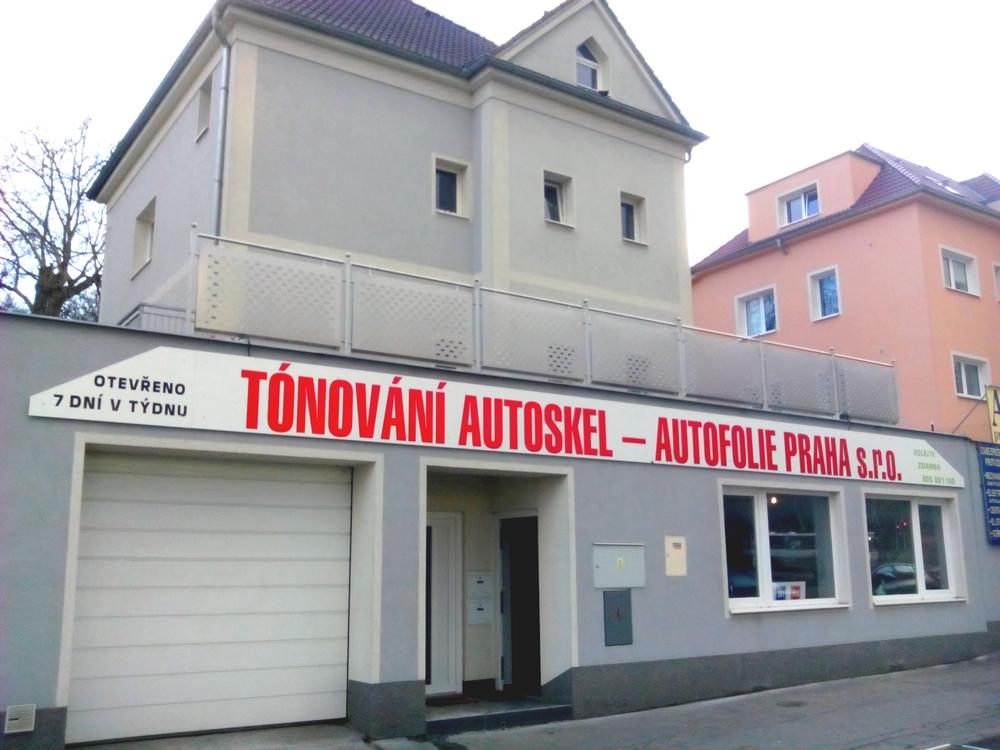 Pobočka Autofolie Praha s.r.o.