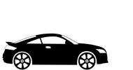 Autofolie na coupe